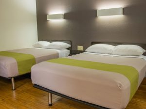 Double Bed Full Size at Studio 6 San Antonio Lackland