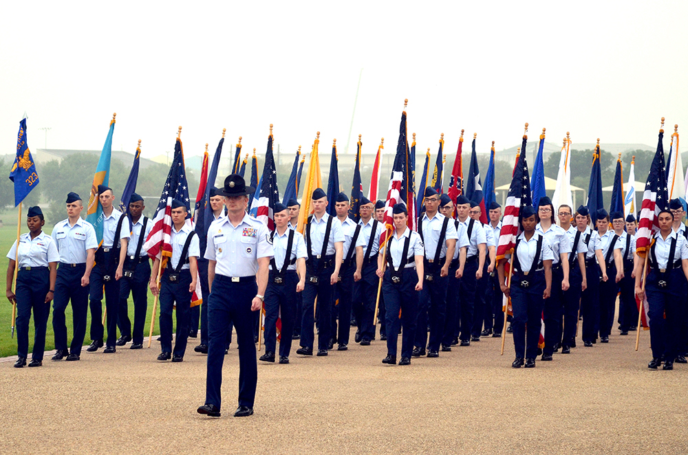 Lackland AFB BMT Graduations